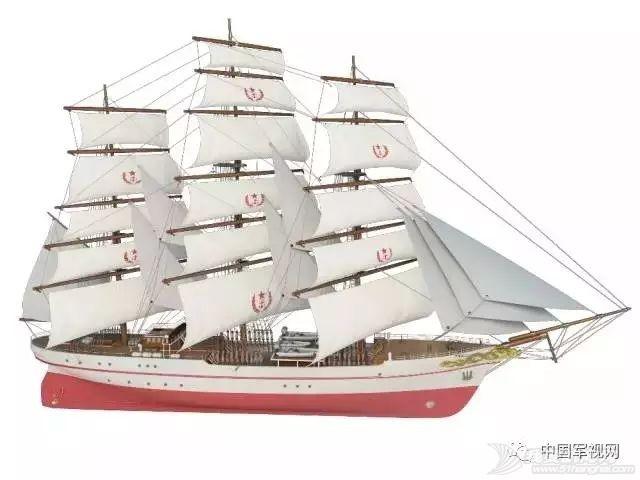 中国海军首座风帆训练舰陆上训练场投入使用
