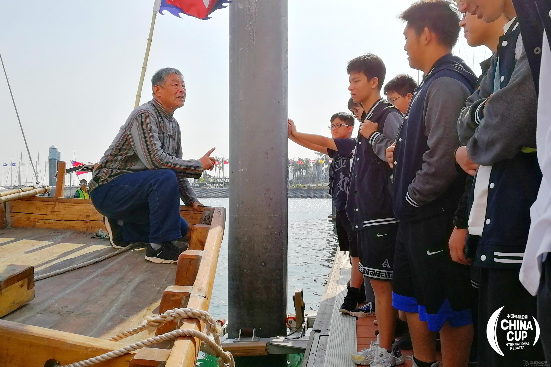 """听老匠师讲述中式实体帆船故事 """"就算人不在了,手艺得留下来"""""""