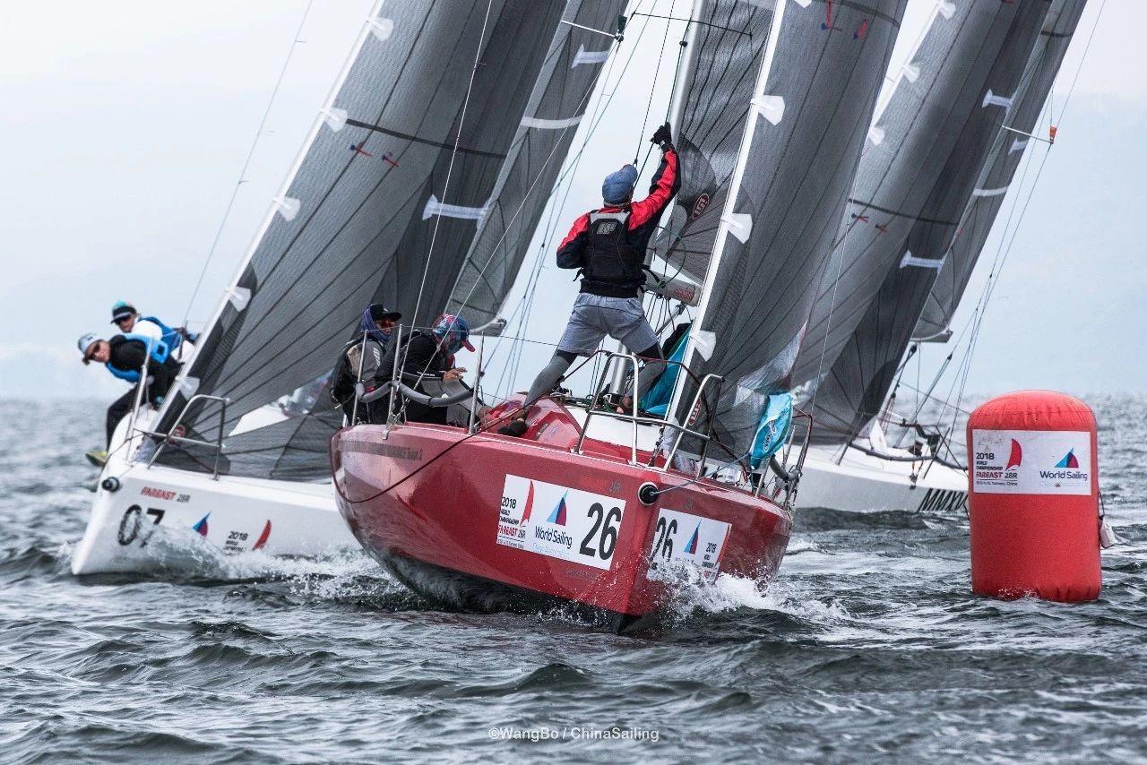 2018国际珐伊28R帆船世界锦标赛之正赛第二日
