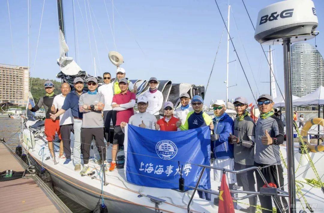 """喜讯   海大校友成功入选""""克利伯""""环球帆船赛船员!w14.jpg"""