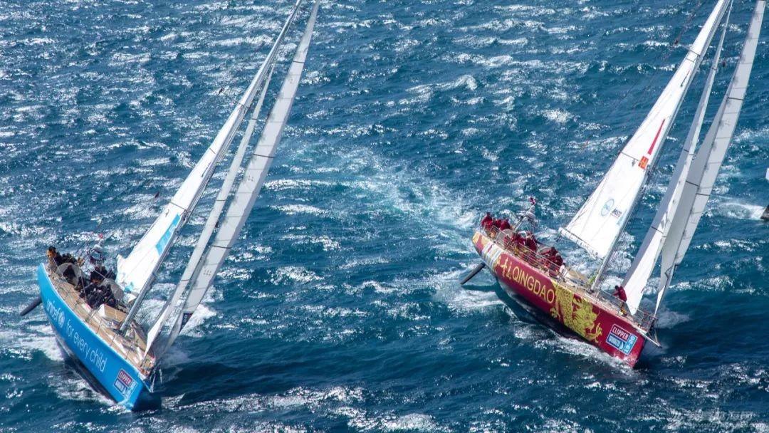 克利伯环球帆船赛开启南大洋赛段,青岛号赛队高居排行榜首位w6.jpg