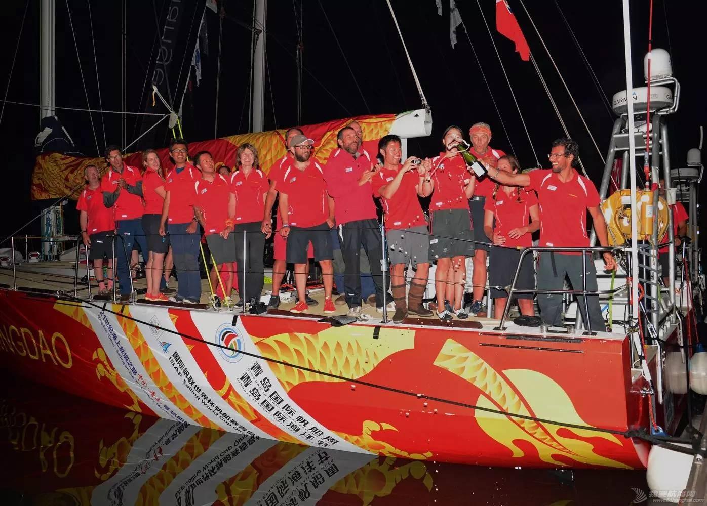 青岛号夺得克利伯环球帆船赛第一赛段亚军w6.jpg