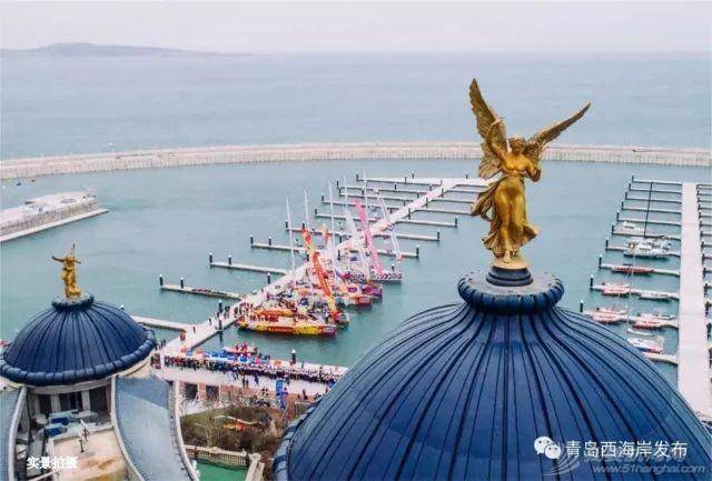 """""""青岛号""""亮相克利伯环球帆船赛,东方影都著写海上传奇!w12.jpg"""