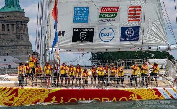 """最后的赢家!""""青岛号""""获得克利伯环球帆船赛凯旋赛程冠军,创...w7.jpg"""