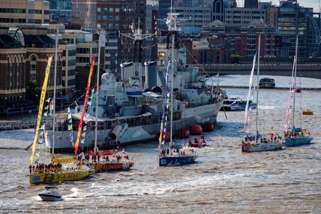 克利伯2019-20环球帆船赛在伦敦盛大起航   三艘中国赛船展开环球之旅w5.jpg