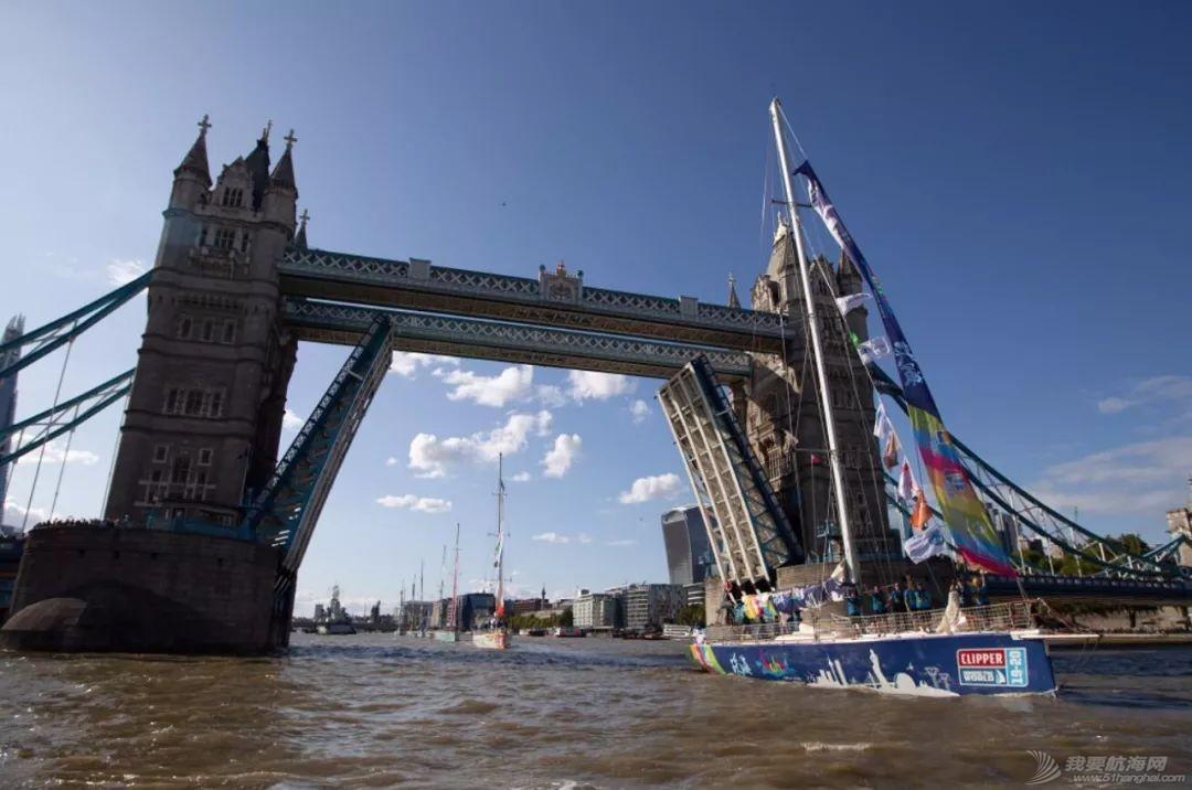 克利伯2019-20环球帆船赛在伦敦盛大起航   三艘中国赛船展开环球之旅w12.jpg
