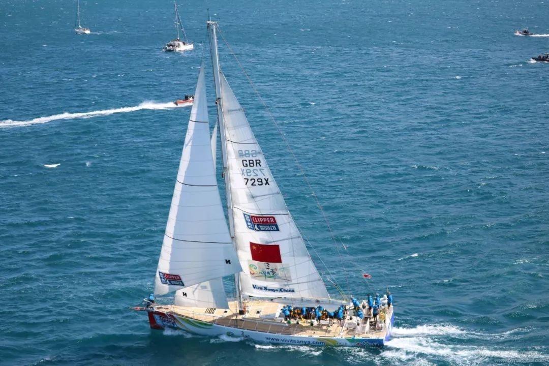 三亚号再起航 驶向澳大利亚弗里曼特尔w2.jpg