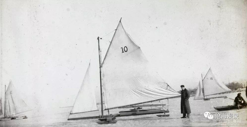 1900-1920 可能在中国最早的冰帆运动影像w1.jpg