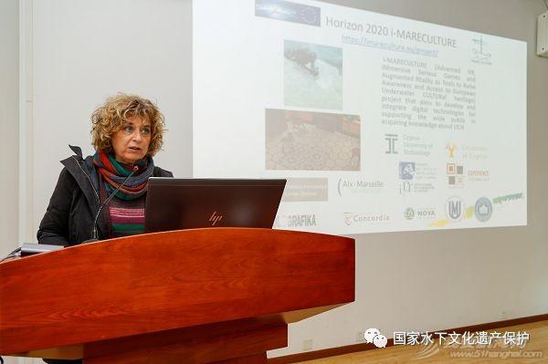 意大利文物保护与修复高等研究院Barbara Davidde Petriaggi在水下中心作学术报告w1.jpg