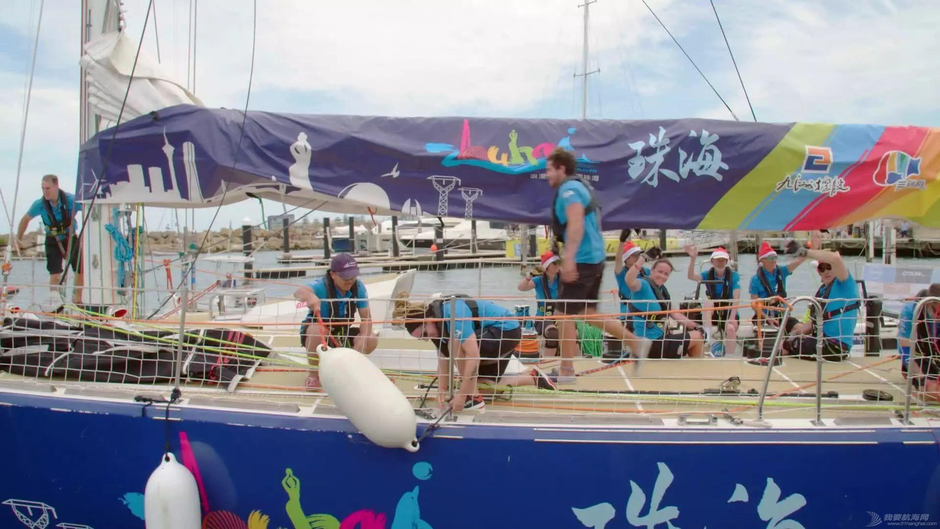 克利伯帆船赛第四赛段正式开启,珠海号赛队将在海上欢度圣诞和新年w4.jpg