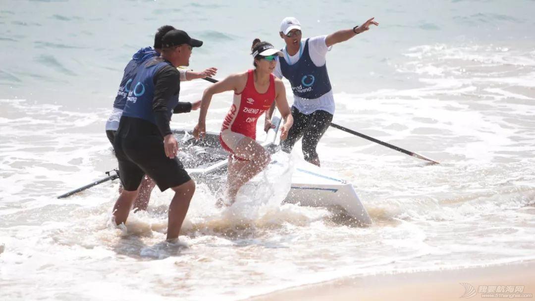 海岸赛艇   中国队包揽世界海岸赛艇沙滩冲刺赛总决赛首日两金w10.jpg