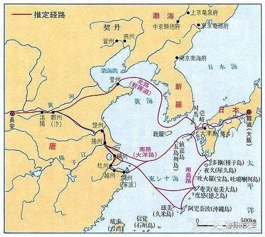 《海洋强国是怎样炼成的》之中国篇 与海洋强国擦肩而过 第六十七章:唐朝的海洋经略之一——中日之间的海洋交流w2.jpg