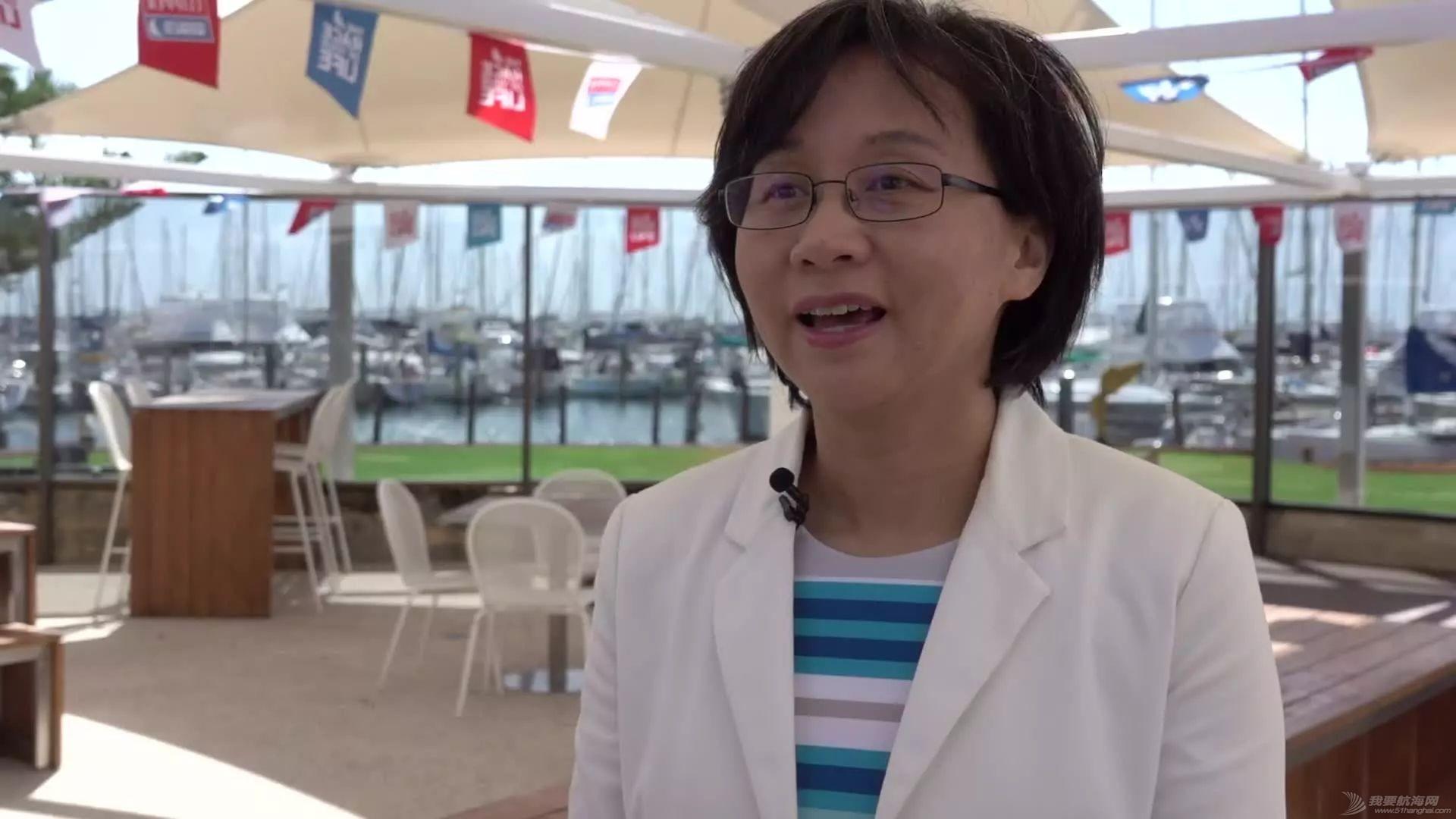 中国驻珀斯总领馆一行来到弗里曼特尔访问克利伯帆船赛w2.jpg