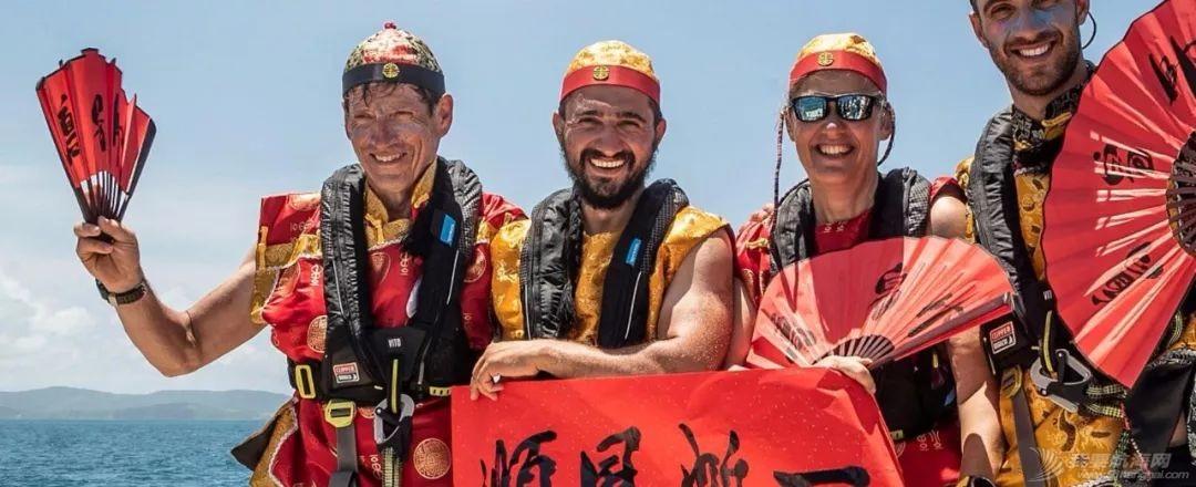 克利伯帆船赛驶向新赛季中国第一站,船员海上欢度春节w2.jpg