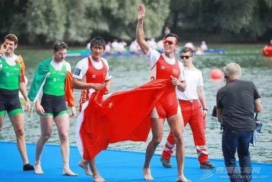 赛艇世锦赛 | 张亮刘治宇男子双人双桨夺冠创历史 中国3金1银列奖牌榜第3w5.jpg