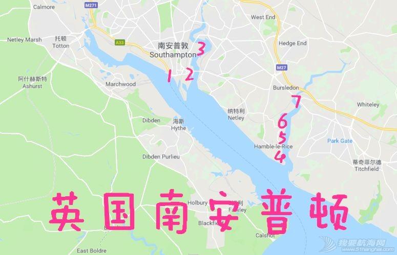 英国游艇码头分布第三篇,南安普顿w2.jpg