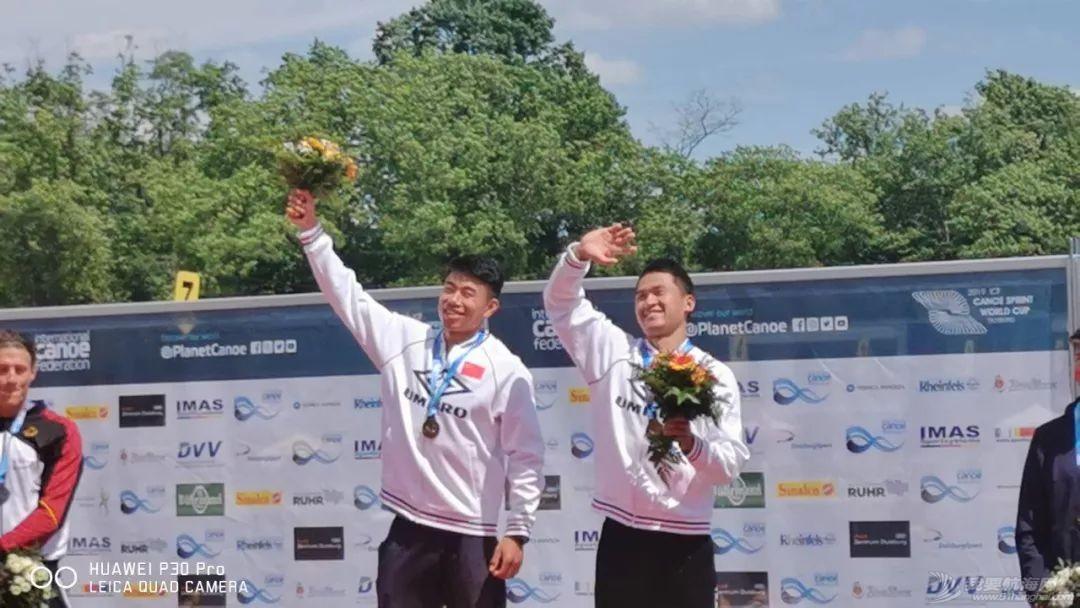 皮划艇世界杯第二站   终于等到这块金牌!浩飞组合男子双划1000米创世界最好成绩夺冠w2.jpg