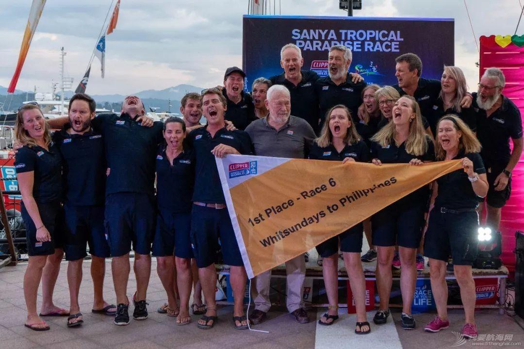 克利伯帆船赛第六赛程颁奖仪式在菲律宾举行w6.jpg