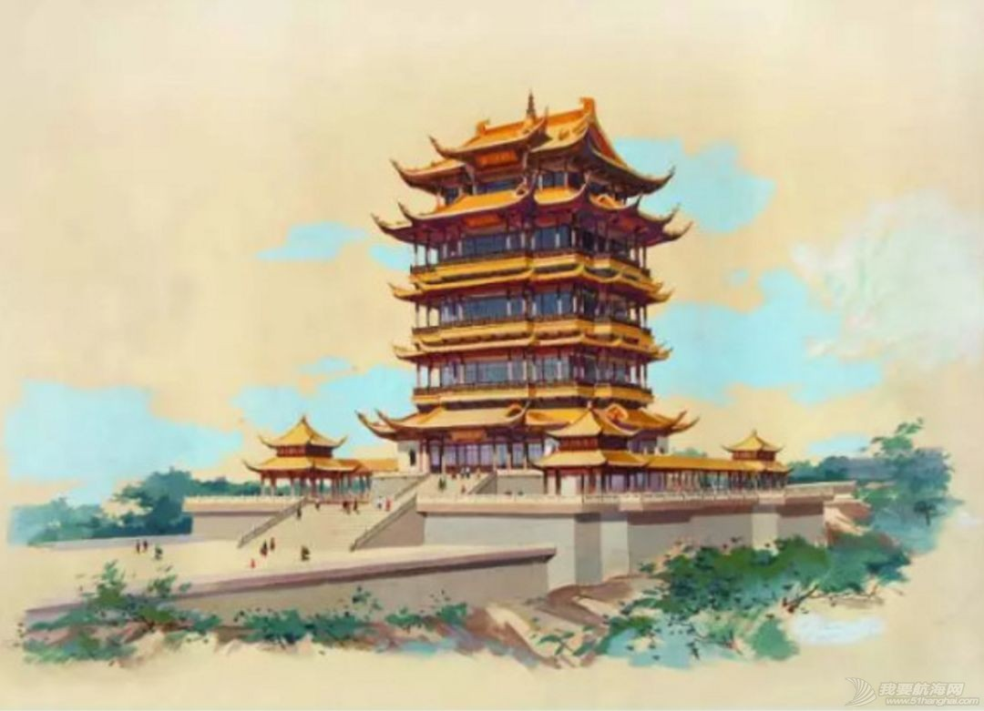 见证千年往事:黄鹤楼是怎样被重建的?w16.jpg