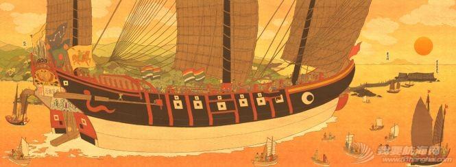 """顶两艘欧洲最强战列舰,明朝中国人造出""""航空母舰""""?郑和宝船究竟长啥样w3.jpg"""