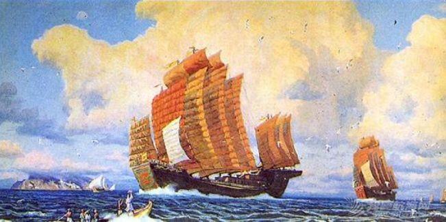 """顶两艘欧洲最强战列舰,明朝中国人造出""""航空母舰""""?郑和宝船究竟长啥样w4.jpg"""