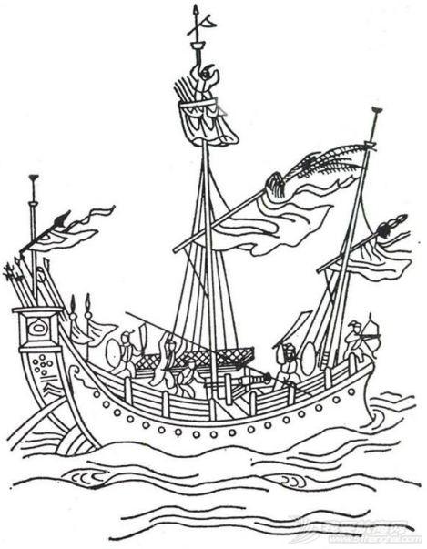 """顶两艘欧洲最强战列舰,明朝中国人造出""""航空母舰""""?郑和宝船究竟长啥样w12.jpg"""