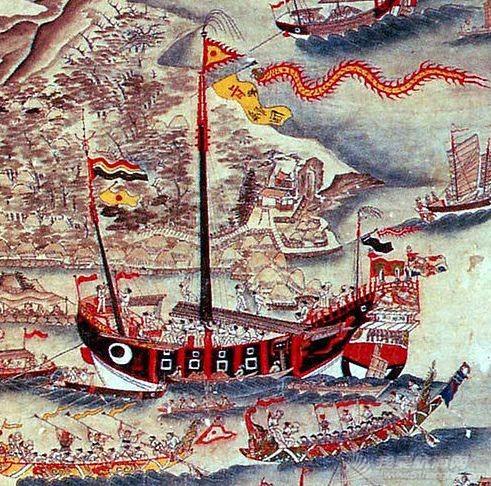 """顶两艘欧洲最强战列舰,明朝中国人造出""""航空母舰""""?郑和宝船究竟长啥样w18.jpg"""