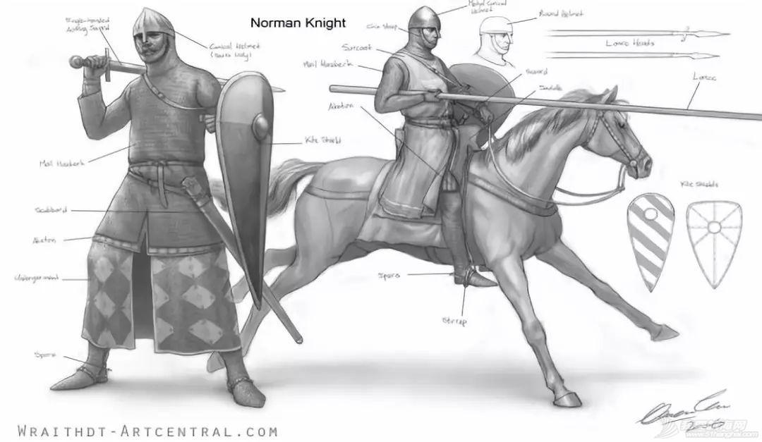 都是北欧海盗后裔,为何诺曼人成骑兵强者?有钱就任性在欧洲中世纪也一样好使w7.jpg
