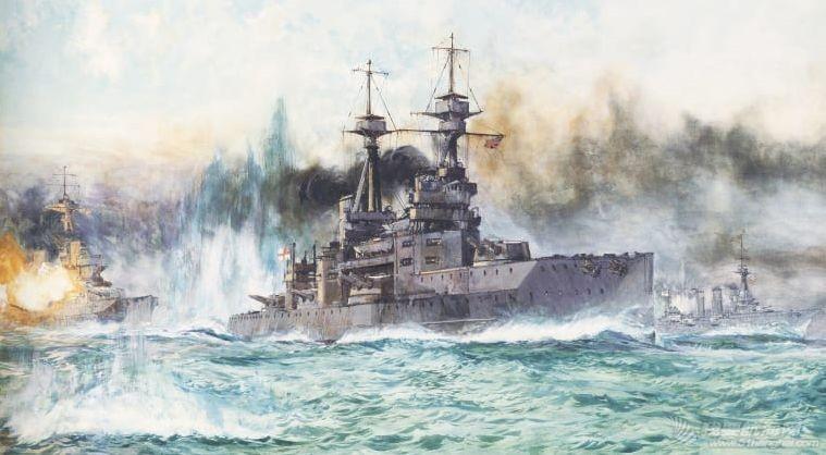 被德舰贴身侦查,还不用密码,日德兰海战中的英国海军这么粗放?w3.jpg