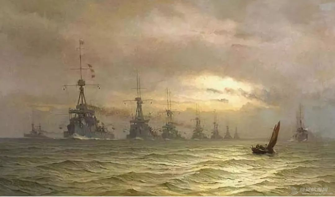 被德舰贴身侦查,还不用密码,日德兰海战中的英国海军这么粗放?w7.jpg