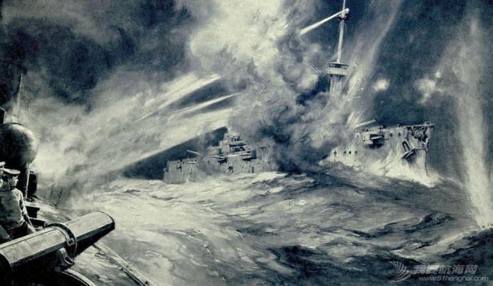 被德舰贴身侦查,还不用密码,日德兰海战中的英国海军这么粗放?w6.jpg