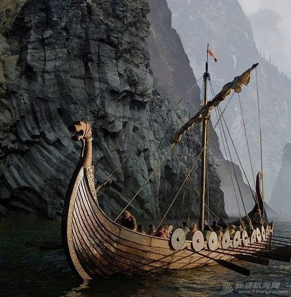 冷研说历史|不仅有时髦装饰,船身还能打弯?维京海盗靠这些龙船黑科技大杀四方w5.jpg