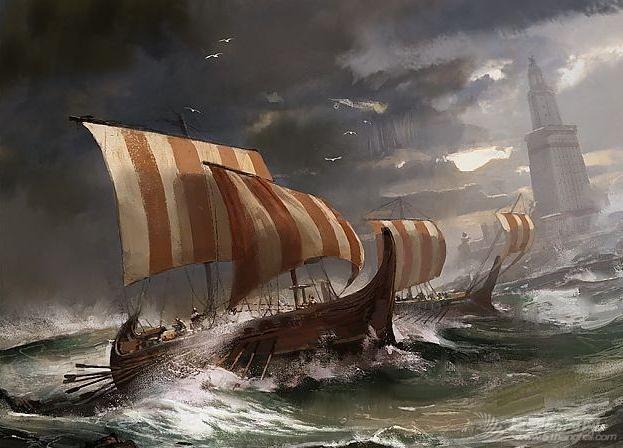冷研说历史|不仅有时髦装饰,船身还能打弯?维京海盗靠这些龙船黑科技大杀四方w8.jpg