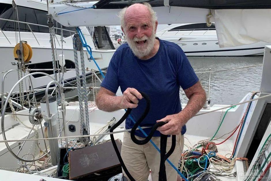 传奇不老!澳洲81岁老翁Bill Hatfield独自不停站环球航行8个月
