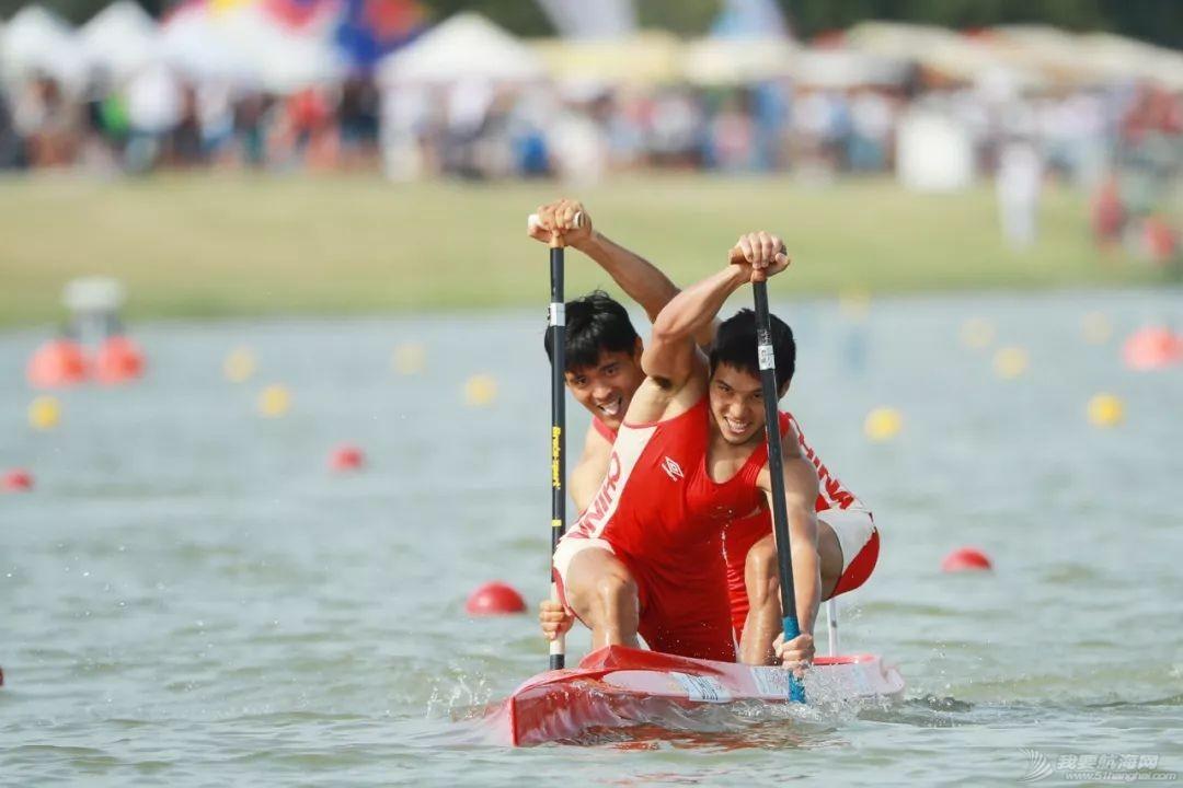 皮划艇世锦赛   中国获世锦赛历史首金 刘浩王浩创世界最好成绩w5.jpg
