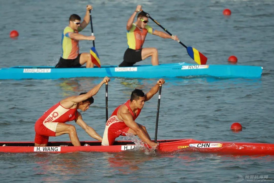 皮划艇世锦赛   中国获世锦赛历史首金 刘浩王浩创世界最好成绩w7.jpg
