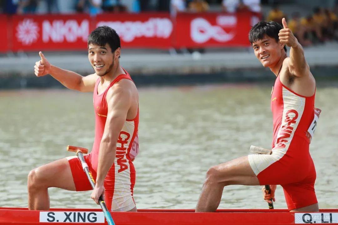 皮划艇世锦赛   中国获世锦赛历史首金 刘浩王浩创世界最好成绩w6.jpg