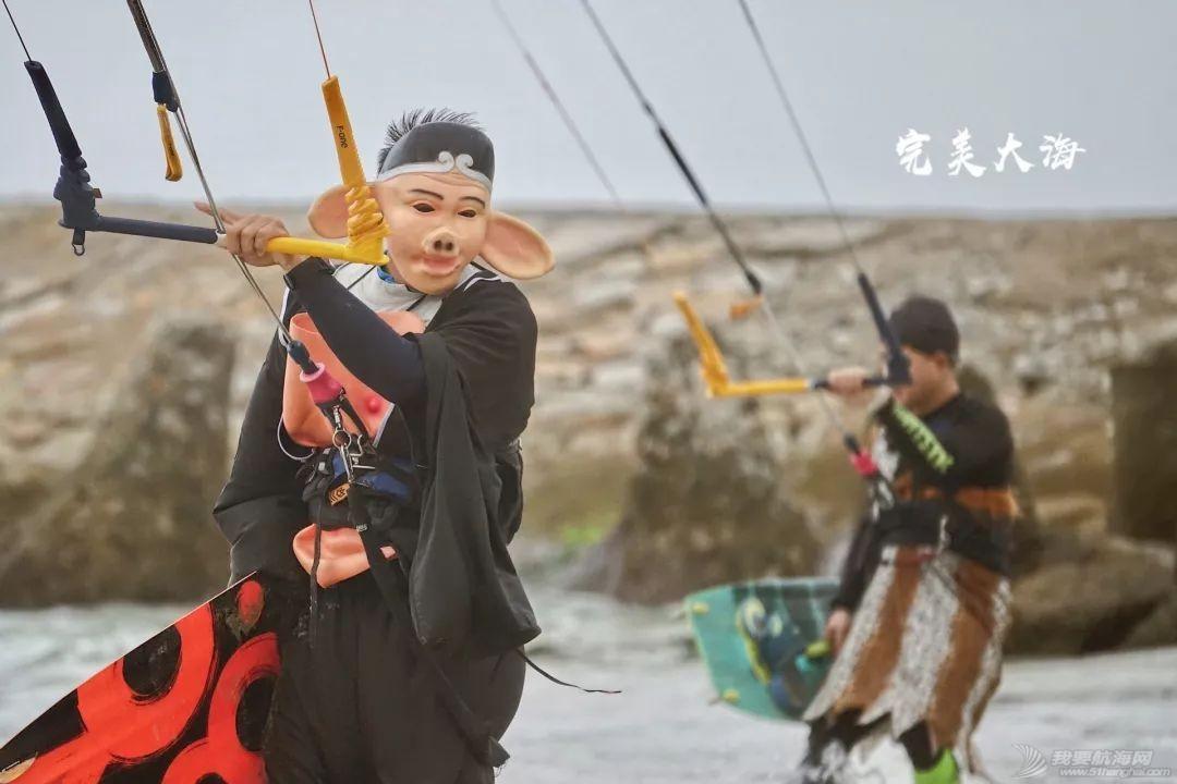帆船人花式贺新年:首届中国风筝帆板空中飞人装扮赛落幕w25.jpg