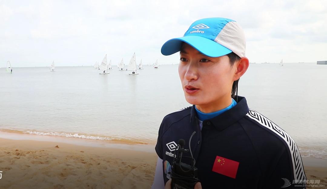 国家帆船帆板队奥运备战大合练(激光雷迪尔级)在海口举行w3.jpg