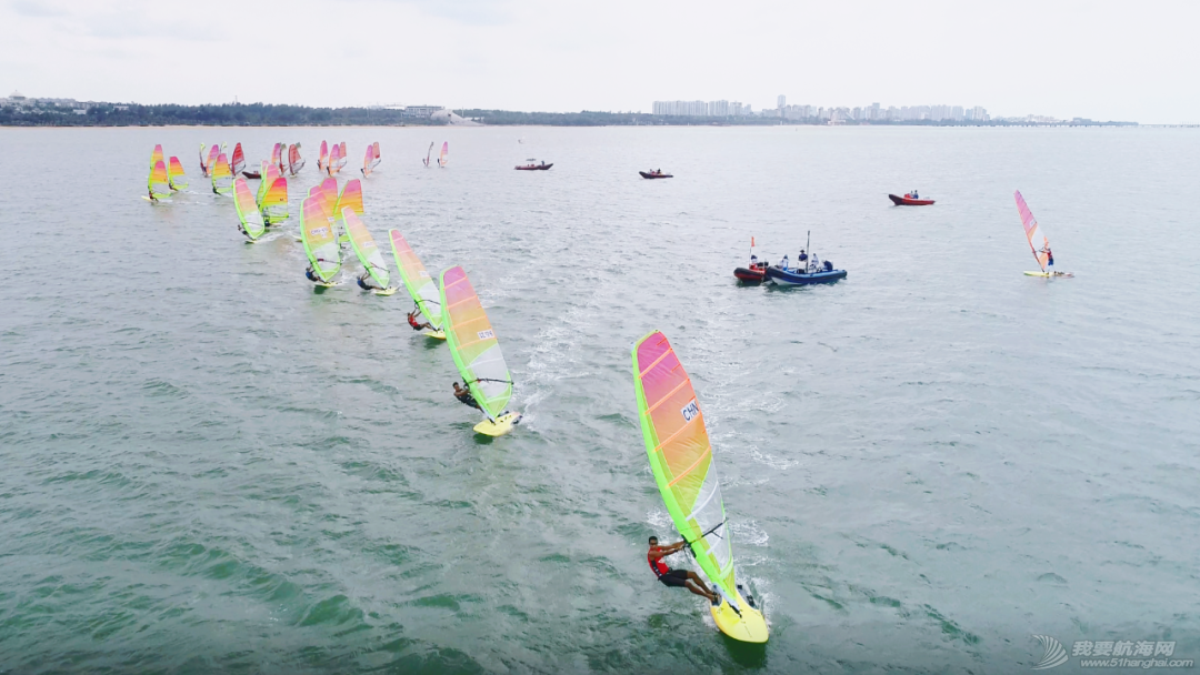 国家帆船帆板队帆板RS:X级四月月赛在海口举行w1.jpg