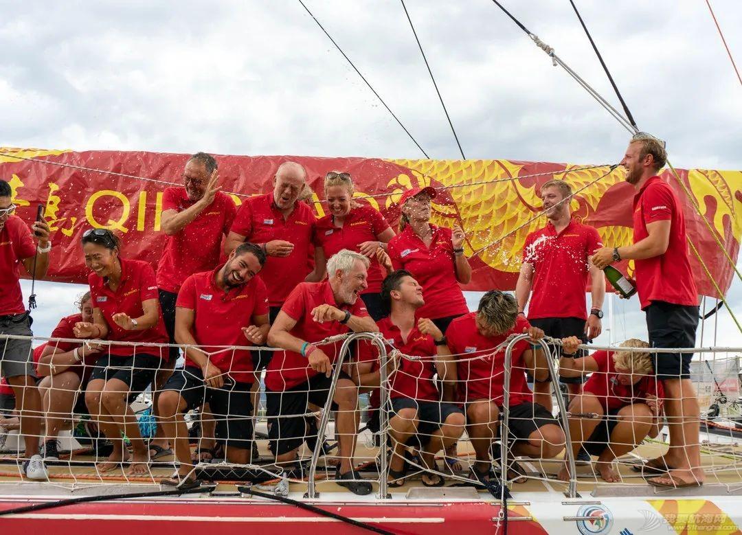 """一帆风顺,再创佳绩!""""青岛号""""大帆船斩获克利伯环球帆船赛第七赛程冠军w14.jpg"""