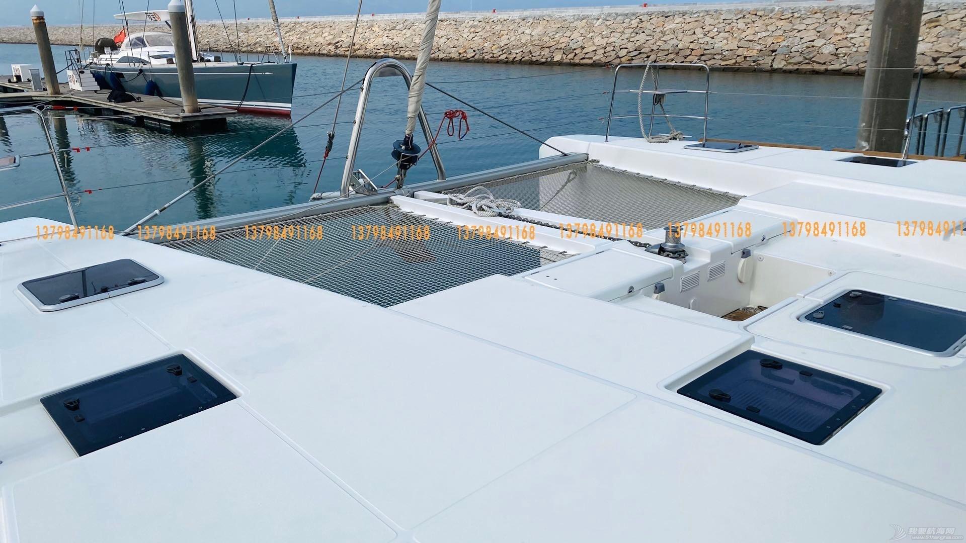 2016年产法国进口52尺双体帆船出售