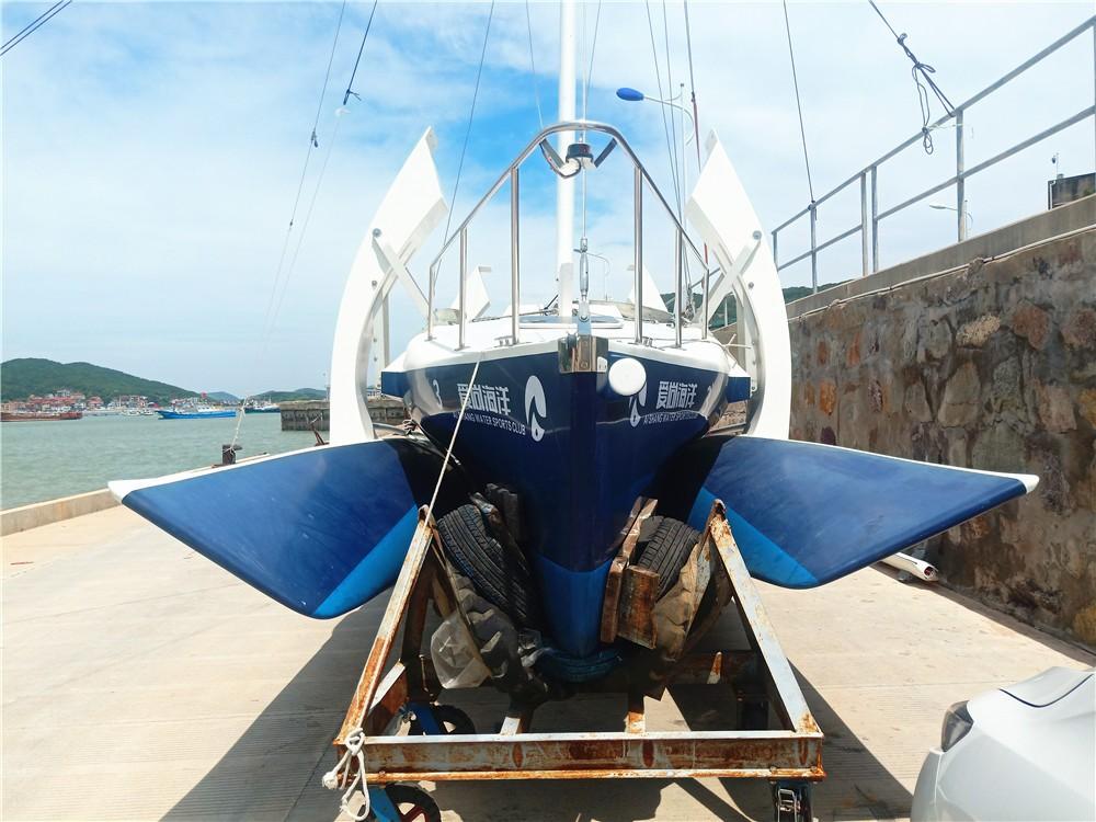 全新二手国产三体29尺帆船