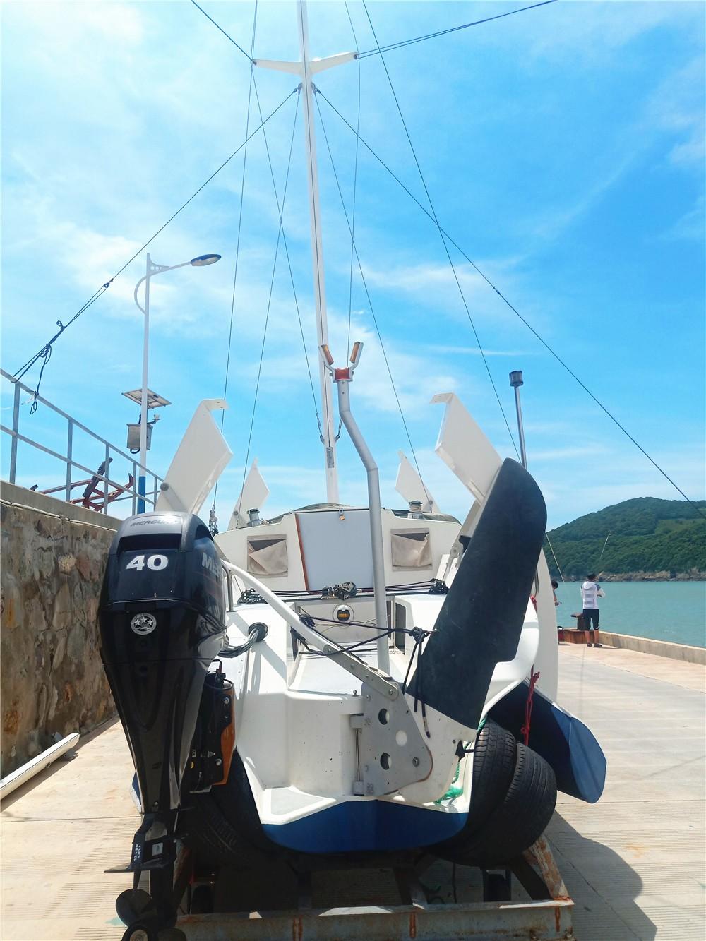 下水,随时,全新,要的,航行 全新二手国产三体29尺帆船 船尾部 223236yskl0n117o4edmld