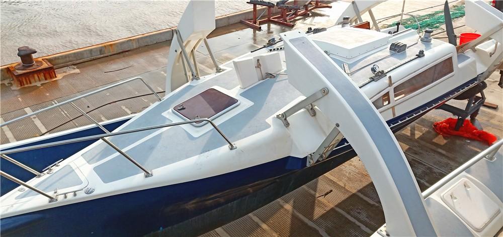 下水,随时,全新,要的,航行 全新二手国产三体29尺帆船 船上甲板 223311tkzzl17l8718284y