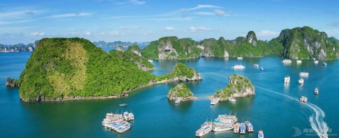 克利伯帆船赛船员畅游越南下龙湾自然古迹w2.jpg
