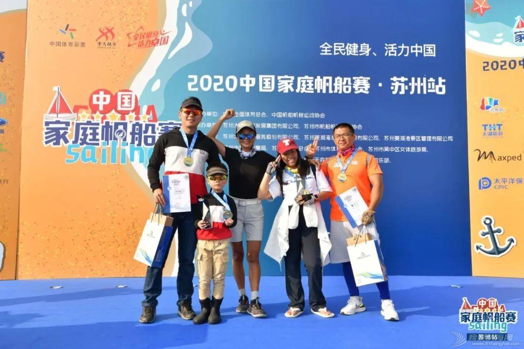 助力苏州大众帆船运动蓬勃开展 2020中国家庭帆船赛·苏州站圆满收帆