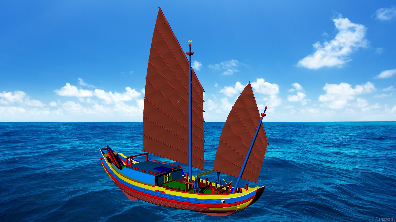 18.3m木质机帆船建造中