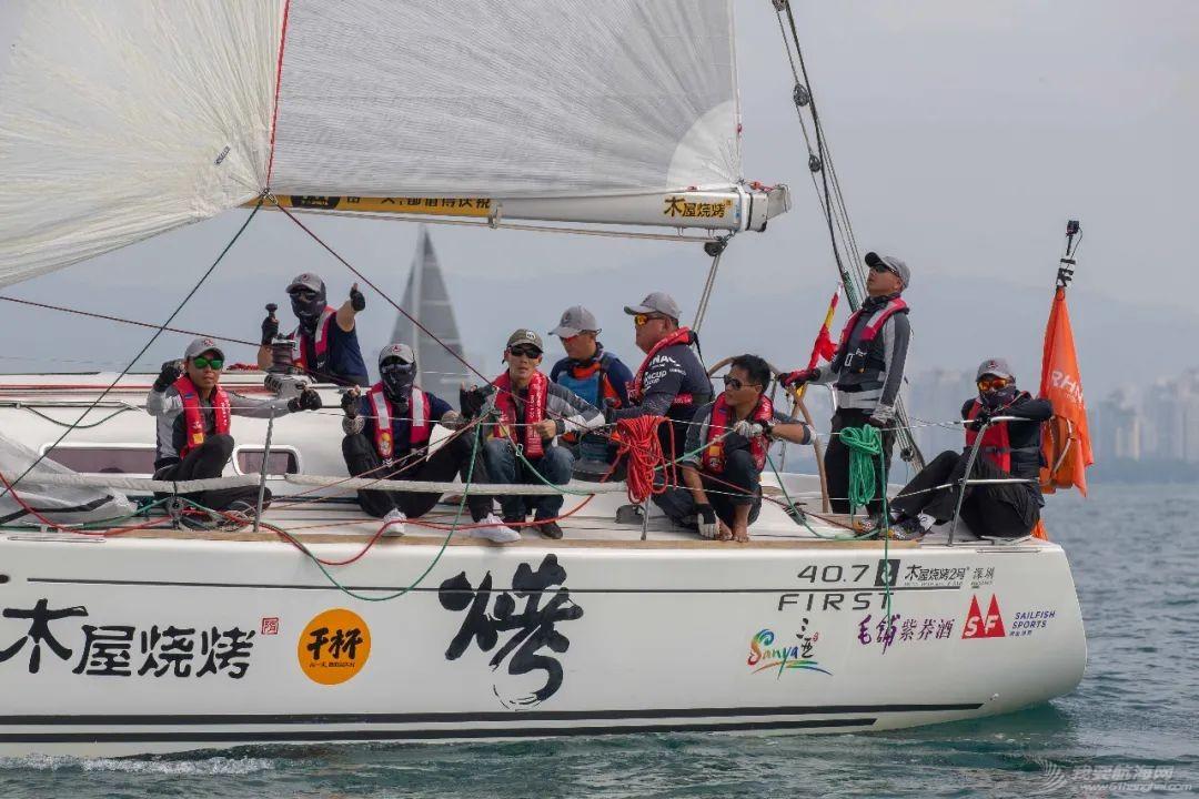 海帆赛长航起程  第一梯队表现抢眼w6.jpg