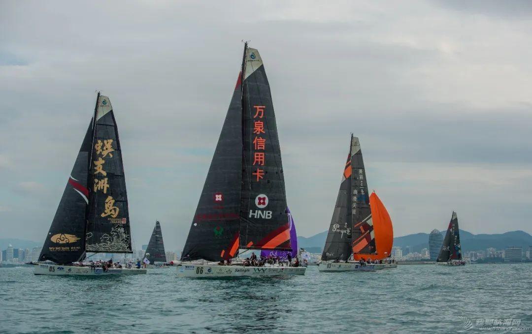 海帆赛长航起程  第一梯队表现抢眼w8.jpg